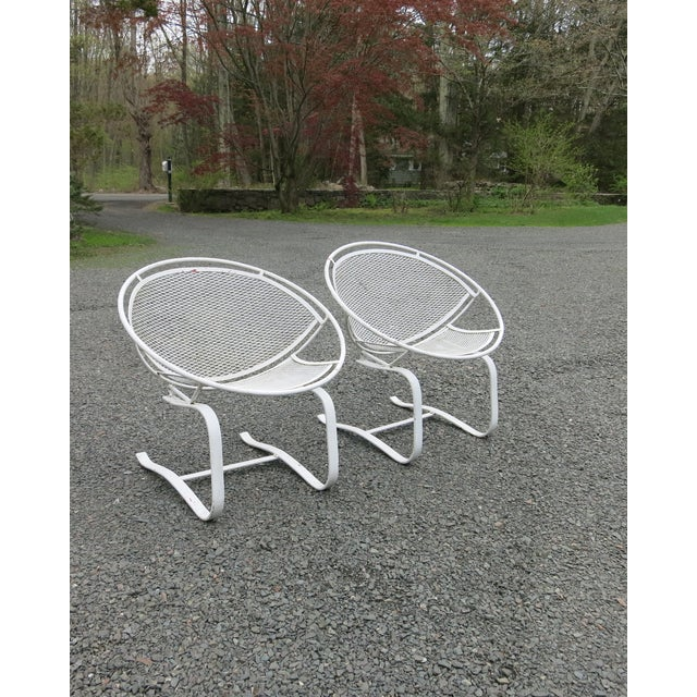1960s Vintage Salterini Radar Chairs- a Pair For Sale - Image 9 of 9