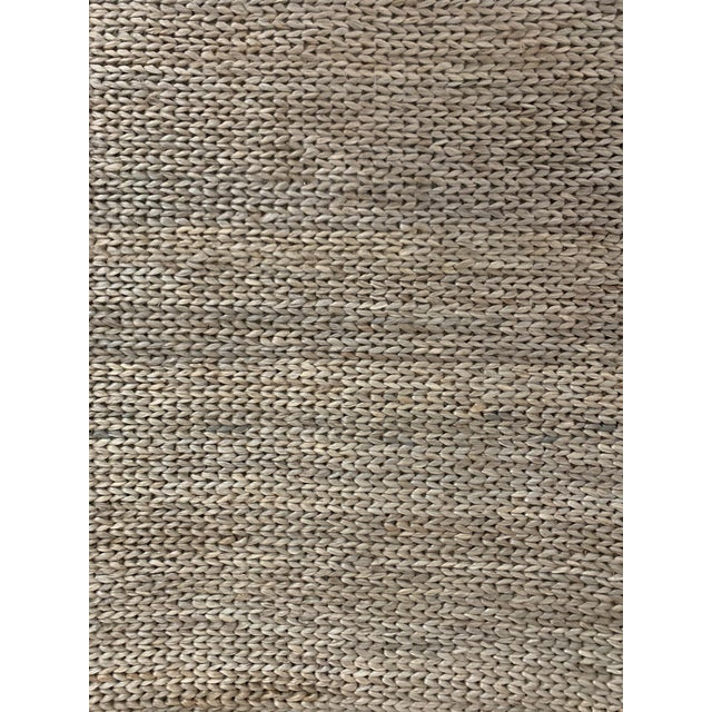 Shabby Chic Hand Woven Jute Rug-5' X 8' For Sale - Image 3 of 10