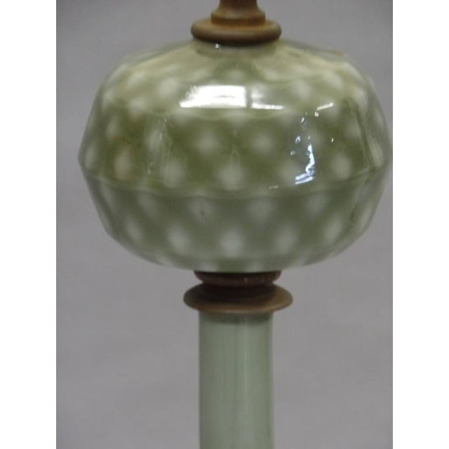 Modern Pair of 1930s Large Modern Neoclassical Murano Glass Table Lamps For Sale - Image 3 of 6