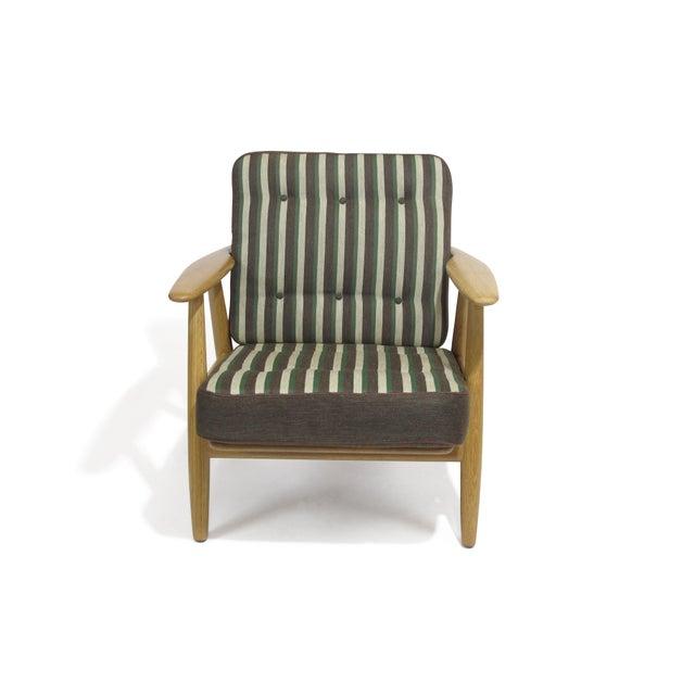 Danish Modern Hans Wegner Cigar Lounge Chair For Sale - Image 3 of 7