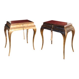 Vintage Caracole Side Tables - Pair For Sale