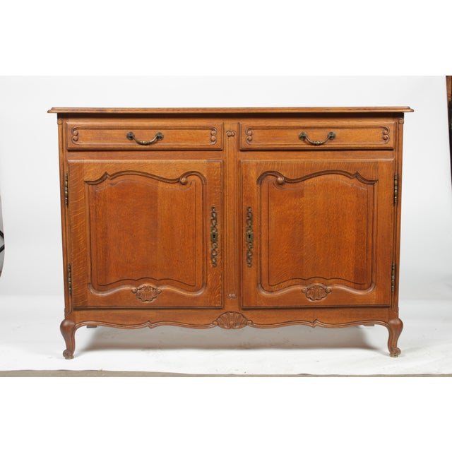 Mid-Century Louis XV-Style Buffet For Sale - Image 12 of 12
