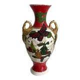 Image of Vintage Chinoiserie Art Deco Vase For Sale