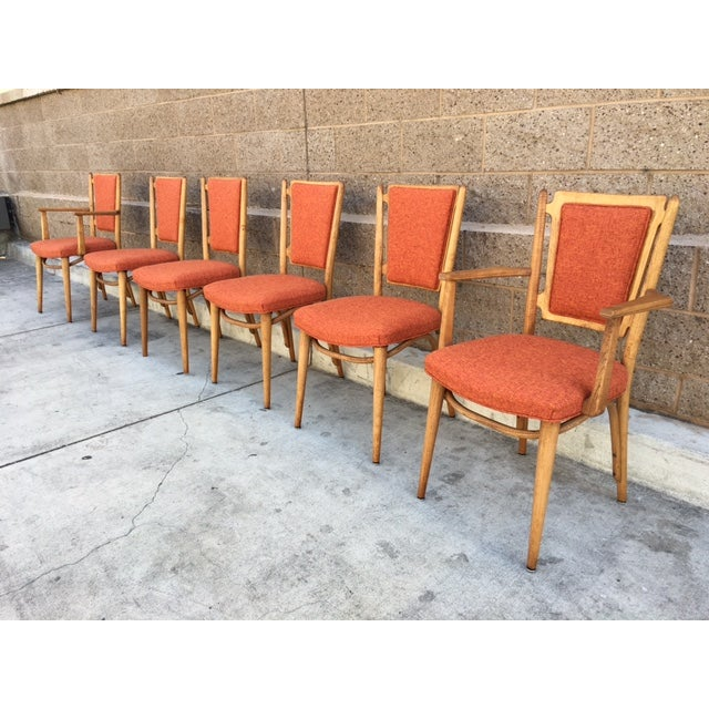 Mid Century Sculptural Dining Chairs - 6 - Image 2 of 5
