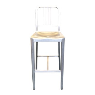 Emeco Aluminum Barstool For Sale