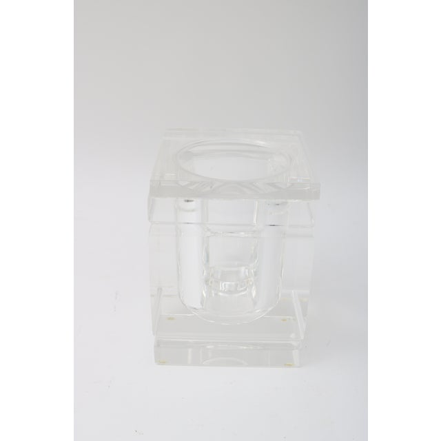Lidded Lucite Ice Bucket - Image 3 of 9