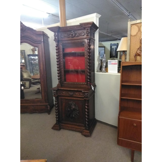 French 19th Century French Hunter's Cabinet/Bookcase For Sale - Image 3 of 13
