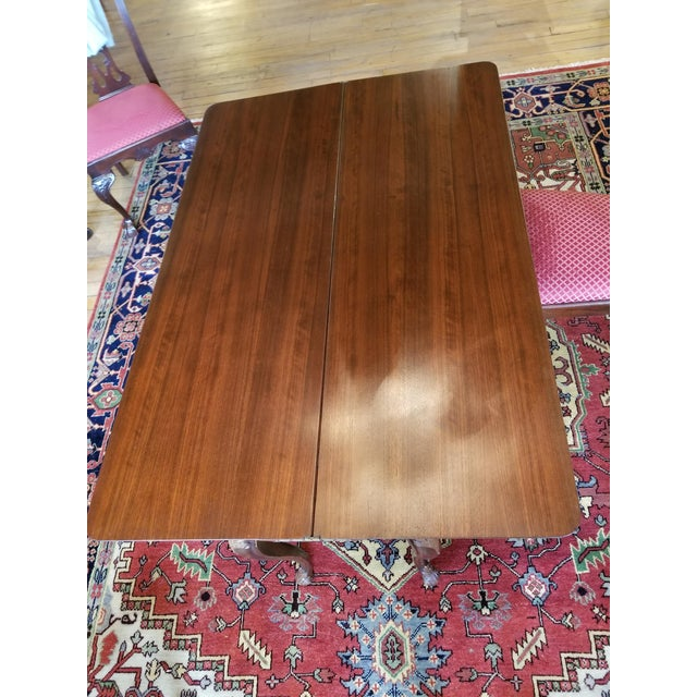 Wood Early 20th Century Leonardo LIV-Dine Table From Waldorf Astoria For Sale - Image 7 of 13