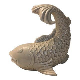 Blanc De Chine Ceramic Fish