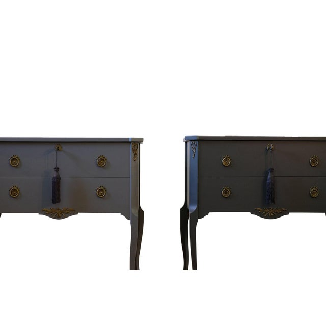 Gustavian Louis XV Style Chests - a Pair For Sale - Image 4 of 9