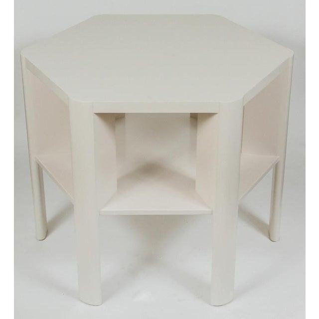 Martin & Brockett Hexagon Library Table - Image 2 of 6