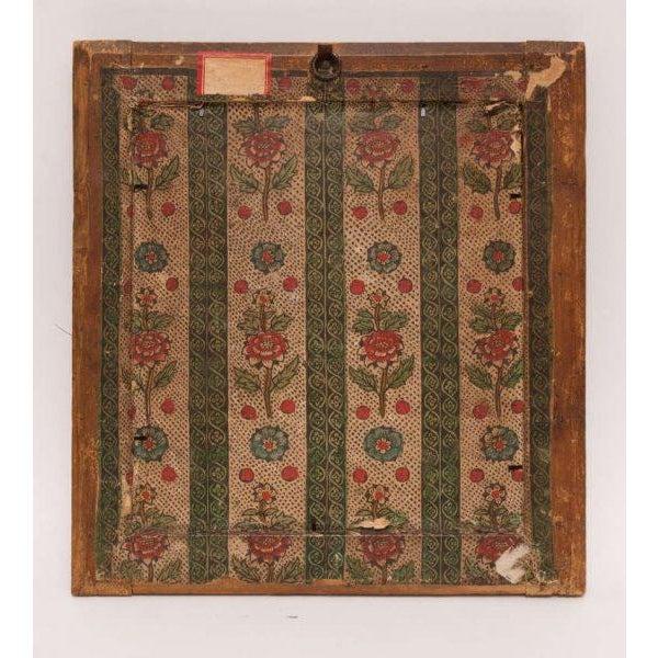 Italian Silk Thread Needlework in Gilt Frame For Sale - Image 9 of 11