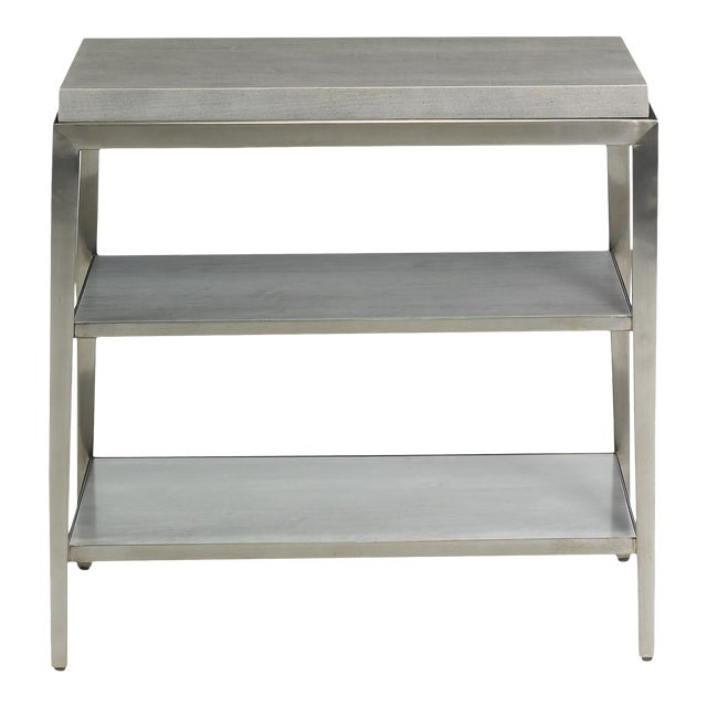 Lund Rectangle Side Table from Kenneth Ludwig Chicago For Sale