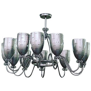 Modern Laslo Chandelier For Sale