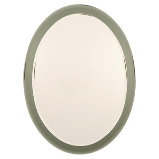 1960s Mid Century Italian Beveled Wall Mirror For Sale