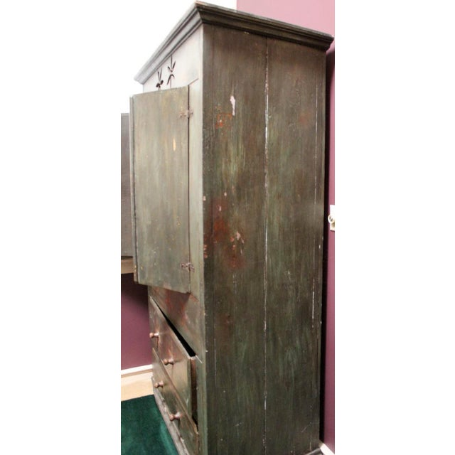 Vintage Distressed Brazilian Armoire For Sale - Image 5 of 11