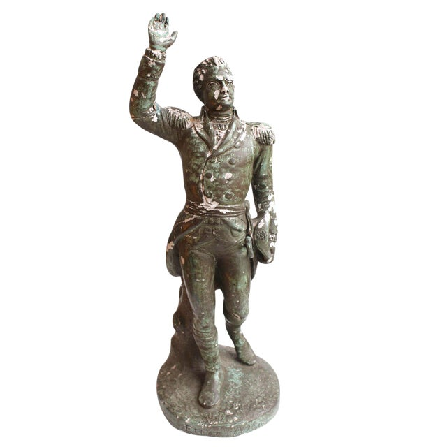 Ethan Allen Statue For Sale