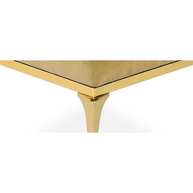Brass Rita Stool From Covet Paris For Sale - Image 7 of 13