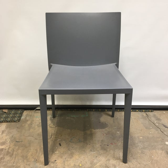 Contemporary Modernistic Cazzaniga Stackable Chairs - Set of 6 For Sale - Image 3 of 13