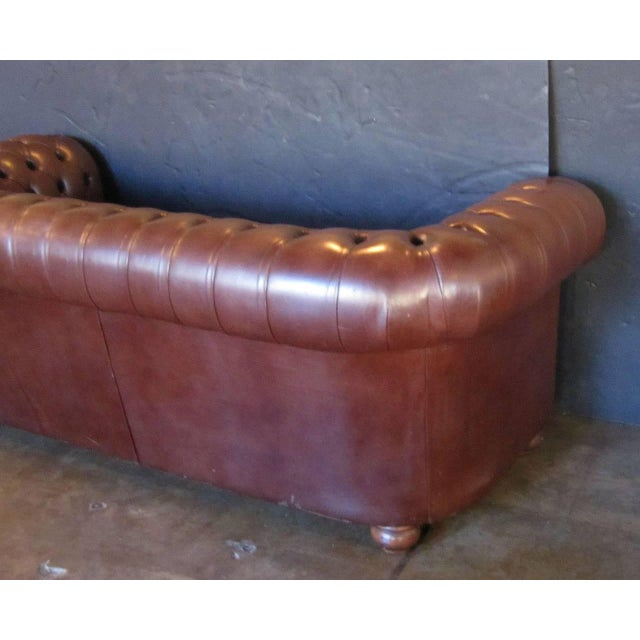 English Chesterfield Sofa For Sale - Image 9 of 11