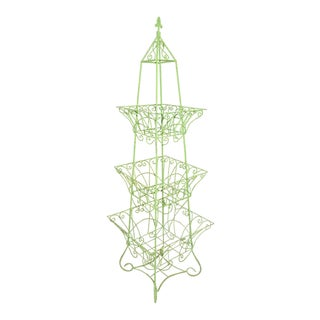 Handsome English Three-tier Plant Stand For Sale