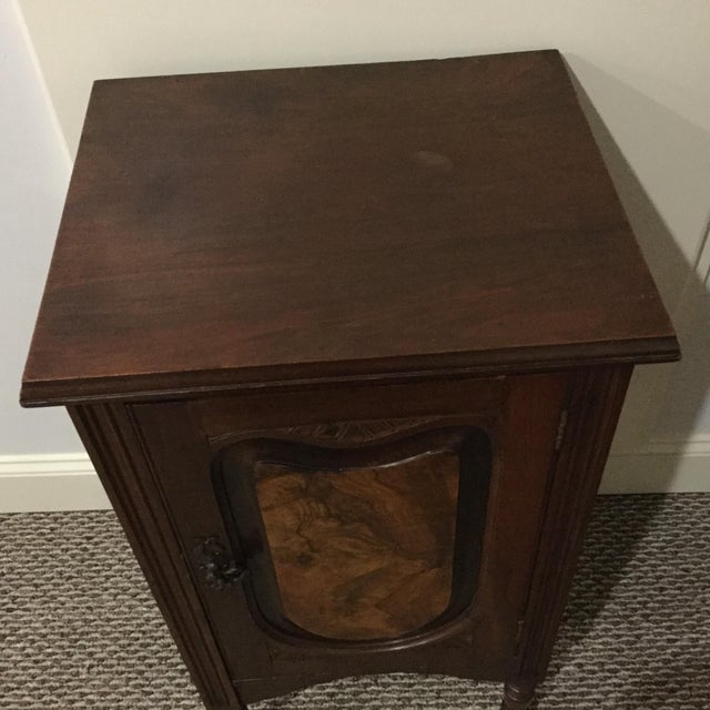 Antique Walnut Half Commode - Image 6 of 8