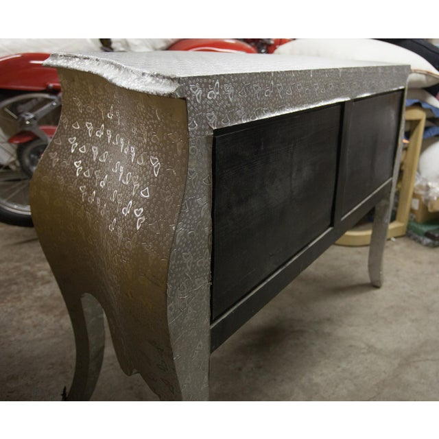 Silver Butterfly Print Dresser For Sale In San Francisco - Image 6 of 7