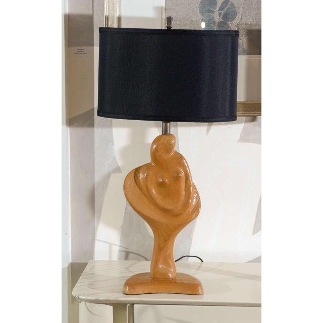 Fantastic Sculptural Pair of Heifetz Lamps For Sale In Atlanta - Image 6 of 10