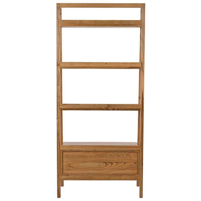 Johnson Bookcase, Natural For Sale In Los Angeles - Image 6 of 8