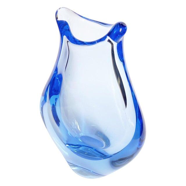 Mid-Century Modern Czech Glass Vases by Miloslav Klinger - Set of 5 For Sale - Image 3 of 13