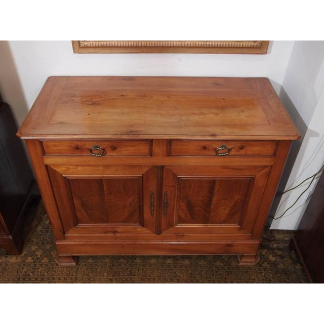Antique French Fruitwood Buffet, Louis Philippe, circa 1840 - Image 4 of 9