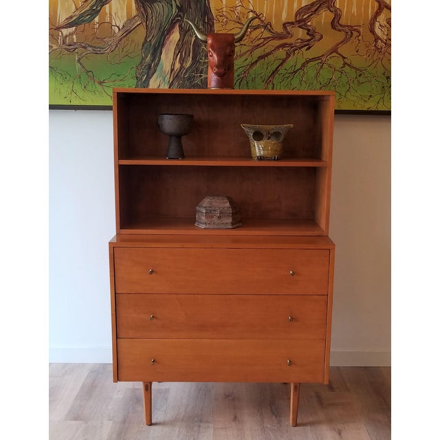 Mid-Century Modern Paul McCobb for Planner Group Display Bookcase With Drawers For Sale - Image 10 of 12