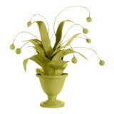 Image of Stray Dog Designs for Chairish Crunchberry Faux Plant, Parakeet Green For Sale