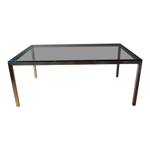 Crate & Barrel Parsons Dining Table - Image 1 of 6