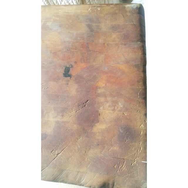 Early 20th Century Antique Butcher Block For Sale - Image 12 of 13