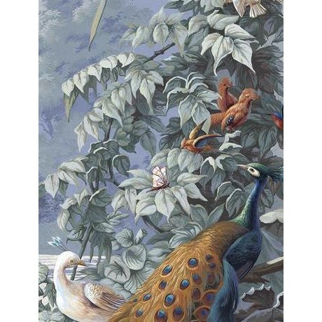 Not Yet Made - Made To Order Casa Cosima Classic Brasília Wallpaper Mural - Sample For Sale - Image 5 of 5