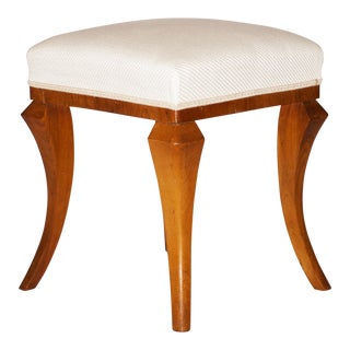 Art Deco Stool Ottoman, Footstool For Sale