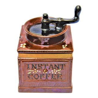 "Mid-Century Royal Sealy ""Instant Coffee"" Coffee Holder For Sale"