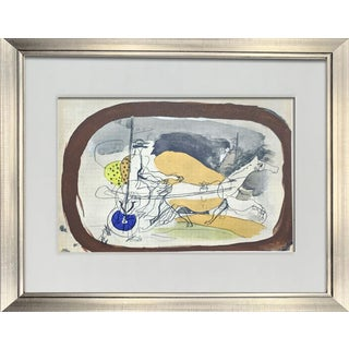 Georges Braque Limited Edition Lithograph W/ Archival Frame For Sale