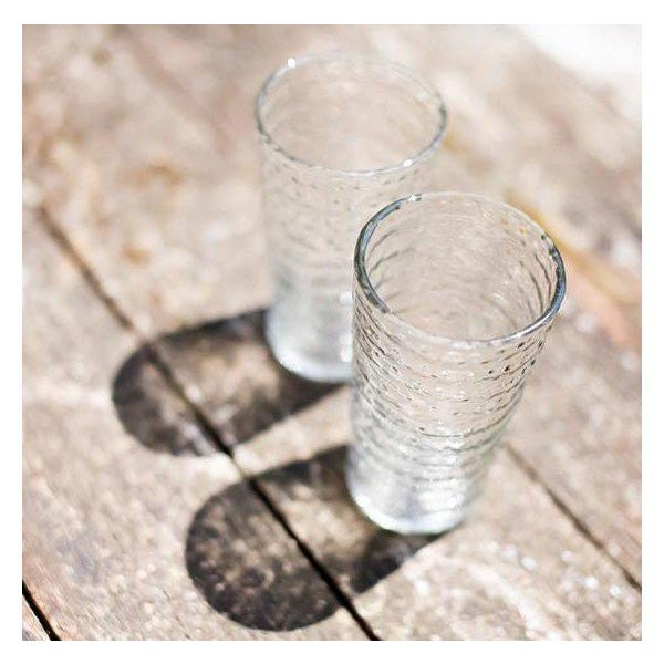 These charming and beautiful Idika dot glasses are the perfect drinking glasses. The glass is recycled, therefore...