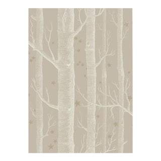 Cole & Son Woods & Stars Wallpaper Roll - Linen For Sale