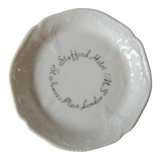 Vintage Stafford Hotel St.James Place London Trinket Dish For Sale