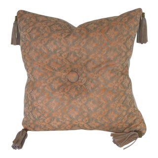 Fortuny Pillow With Tassels For Sale