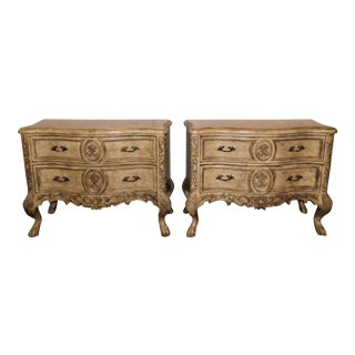 Ferguson Copeland French Country Nightstands-a Pair For Sale