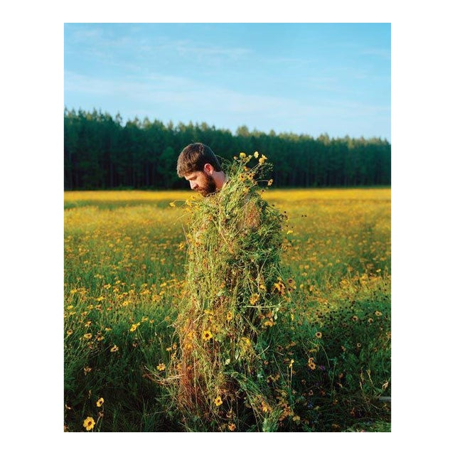 Jeremy Chandler, Eric in a Ghillie Suit (Flowers), 2011 For Sale
