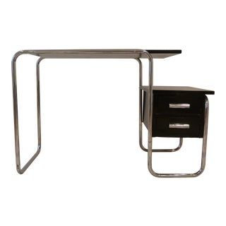 1930s Bauhaus Marcel Breuer Writing Tubular Desk For Sale