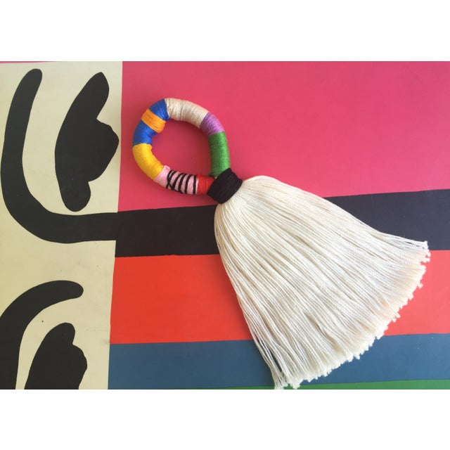 Boho Chic Multi-Color Tassel Door Hanger For Sale In Las Vegas - Image 6 of 6
