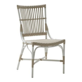 Piano Exterior Side Chair - Dove White For Sale