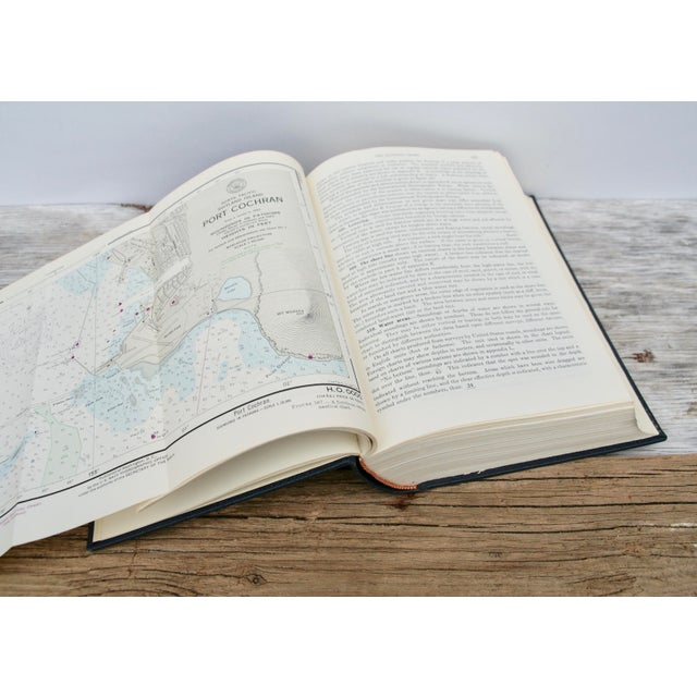 "1962 Vintage ""American Practical Navigator"" Book For Sale - Image 4 of 9"