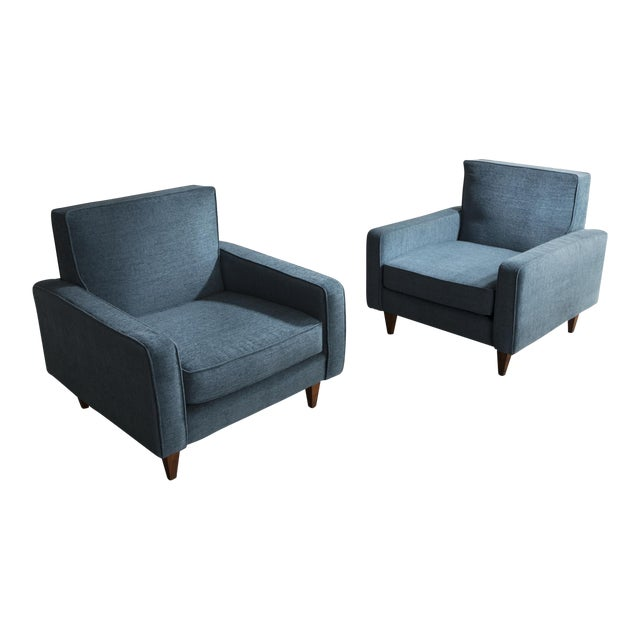 Pair of lounge chairs by Joaquim Tenreiro, Brazil, 1961. For Sale